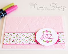 Stampin' Up! | Just Add Butterlies | By Louise Sharp
