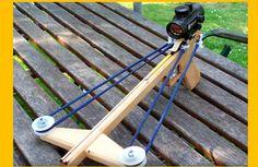 [Video] DIY Crossbow: The Pistol Slingshot
