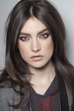 Jacquelyn Jablonski Dark Ash Brown Hair