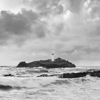 Godrevy Lighthouse Phone Backgrounds, Lighthouse, Landscape Photography, Dan, Coastal, Black And White, Gallery, Water, Outdoor