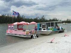Even if you don't bring the picnic and drinks that you planned on bringing, the nearby floating restaurants won't leave you stranded. Taco Boats, Marco Island Florida, Floating Restaurant, Madeira Beach, Food Spot, Captiva Island, Vacation Deals, Travel Deals, Naples Florida