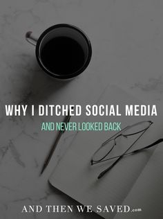 Why I Ditched Social Media and Never Looked Back - I've been off social media for a year now and it has been the best decision ever! media detox quotes so true Social Media Negative, Delete Social Media, Quitting Social Media, Social Media Break, Social Media Detox, Social Media Quotes, Social Media Ruins Relationships, Social Media Measurement, Digital Detox