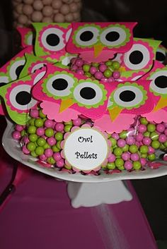 Catching up with the Cross Family: Look Whooo's 1 (Part II) Owl Themed Parties, Owl Parties, Owl Birthday Parties, Baby Birthday, Owl First Birthday, Birthday Ideas, Sleepover Party, Slumber Parties, Baby Shower