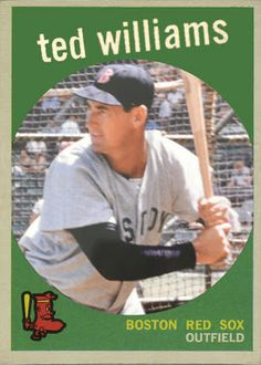 Topps Cards That Never Were | Uncle Doc's Card Closet: Topps Cards That Never Were - 1959 Ted ...