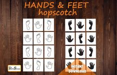 HANDS & FEET Sensory Path, Hopscotch for preschooler, Homeschooling, Floor path game for schools, Left and right learning Fun Games For Kids, Activities For Kids, Disney Activities, Pe Games For Kindergarten, Homeschool Kindergarten, Sticky Paper, Floor Decal, Vinyl Paper, School Games