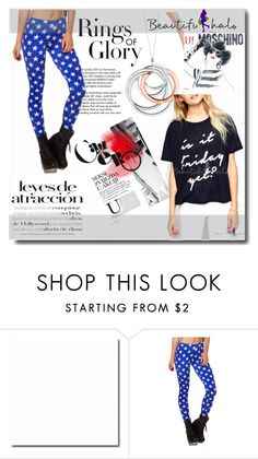 """beautifulhalo34"" by mediasky ❤ liked on Polyvore featuring Moschino, Tiffany & Co., women's clothing, women, female, woman, misses, juniors and beautifulhalo"