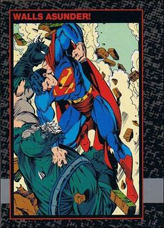 Doomsday: The Death of Superman 35 A, Jan 1992 Trading Card by SkyBox
