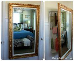 Hooker Furniture Floor Mirror w/Hidden Jewelry Storage 500-50-656 ...