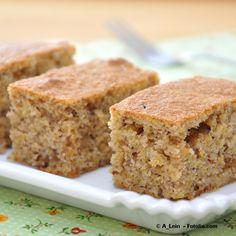portugiesischer Zimtkuchen ist lecker, gesund und schnell gemacht./ cinnamon cake is delicious, healthy and super easy.(Baking Sweet Healthy)
