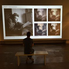 #pimiö #mørkekammer #darkroom exhibition in Helsinki Playing with Instagram fillters on old Photos on Finland photographic museum #visithelsinki
