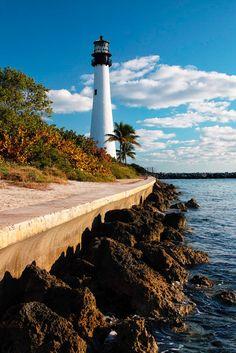 Where Are Lighthouses In Florida   cape florida lighthouse key biscayne florida usa sigma sd1 camera ...