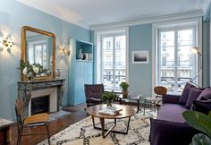 Chic 2 Bedroom Near The Louvre, $966/Night   10 Paris Airbnb Rentals You Must Stay In Before You Die