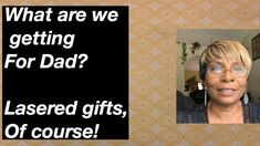 Laser Gifts for Dad #17 - YouTube Diy Jewelry Videos, Gifts For Dad, The Creator, Dads, Youtube, Dad Gifts, Fathers, Youtubers, Youtube Movies