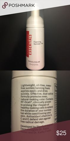 NWT Rodan + Fields Sunless Tanner Awesome sunless tanner. It's been featured in tons of magazines and is a foam sunless tanner. Google it! Rodan + Fields  Makeup