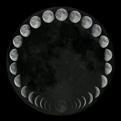 moon phases. Making this into a bracelet!