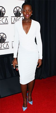 Awards Show Style: Top Red Carpet Looks from the 2014 Oscar Nominees - Lupita Nyong'o from #InStyle