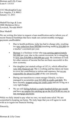 Hardshipletterformortgage A Must See  Hardship Letter For