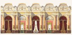 Max Allihn (German, born 1848): design for an opera house for 2,000 people. books n buildings