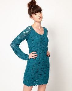 So few really cute crochet dress patterns, love this one