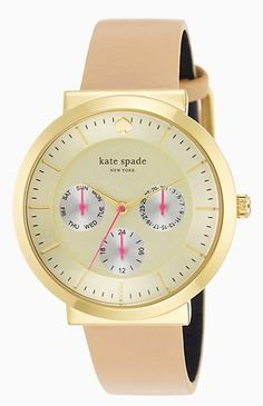 pretty Kate Spade watch  http://rstyle.me/n/i29wzpdpe