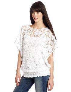 Trina Turk Women's Kuta Crochet Tunic Top