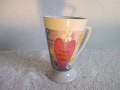Mom Mug Coffee Cup Mother Day Ceramic Vintage Tea And You Gift 8oz