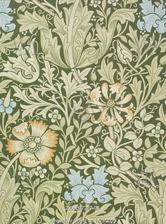 Compton wallpaper, by William Morris. England, 1896