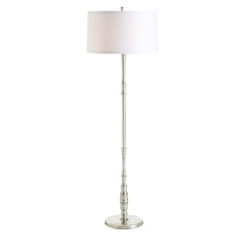 Teagan Distressed Silver Floor Lamp by Arteriors - http://www.lightopiaonline.com/teagan-distressed-silver-floor-lamp.html