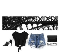 """Romwe t shirt"" by blueeyed-dreamer ❤ liked on Polyvore featuring casual, contest and romwe"