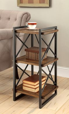 """Galston I Industrial 27.5"""" Etagere"""