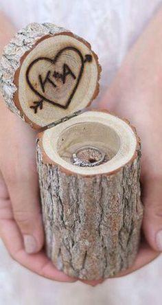 4. Un rondin de bois