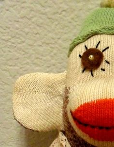 A Vintage Sock Monkey Tail