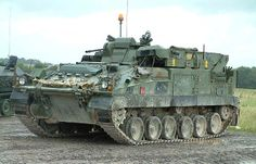 British Army Warrior Armoured Vehicle