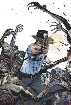 f85757d9144 the 2013 Wizard World Portland Reprint Variant Cover for the Walking Dead    1 was illustrated