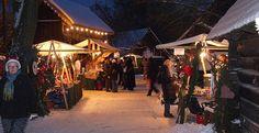 Weihnachtsmarkt in Lübbenau / Spreewald