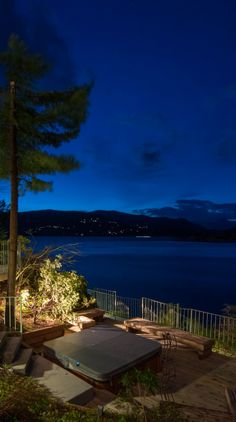 West Vancouver waterfront at dusk #blurrdMEDIA #architecture #photography
