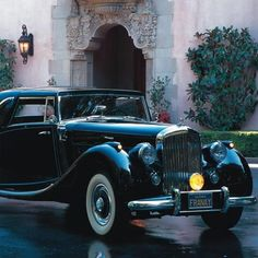 1951 Bentley  Mark VI, Coupe DeVille at The Nethercutt Museum Sylmar, CA #Kids #Events