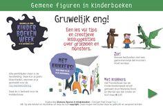 Kinderboekenweek 2017: Gruwelijk eng! | Rian Visser