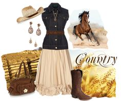 """Country"" by Jeanette on Polyvore"