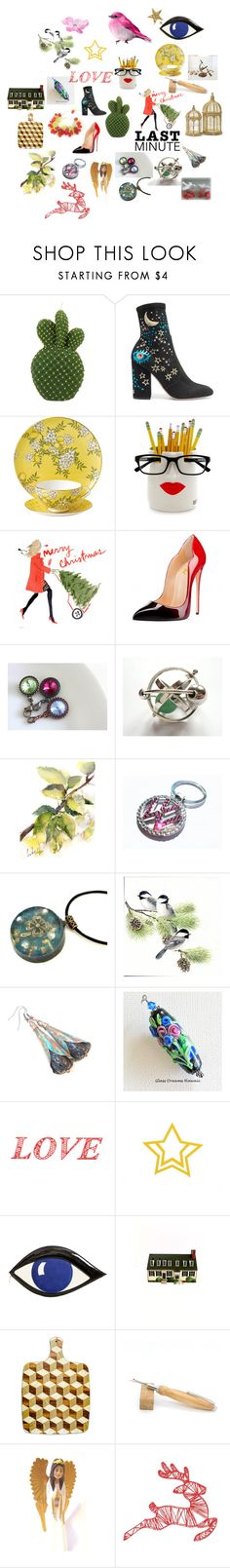 """""""27 December"""" by bizarrejewelry ❤ liked on Polyvore featuring &klevering, Valentino, Wedgwood, WALL and Lulu Guinness"""