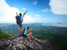Mantente activo en tu destino veraniego de montaña.