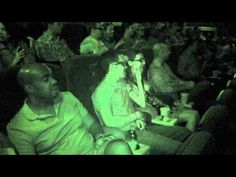 What happens when a zombie walks into a movie theater? Skip to 1:40 to see the Zombie.