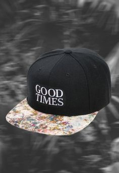 """OBSERVED HANDMADE """"GOOD TIMES"""" CAP (LIMITED)"""