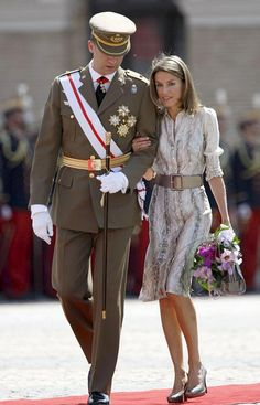 Princess Letizia and Prince Felipe
