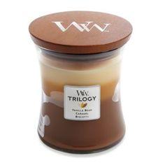 WoodWick® Trilogy Café Sweets 10 oz. Jar Candle - BedBathandBeyond.com