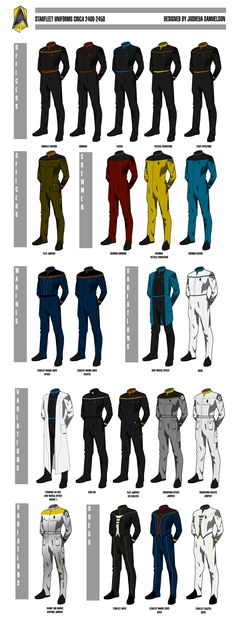star trek enterprise uniform