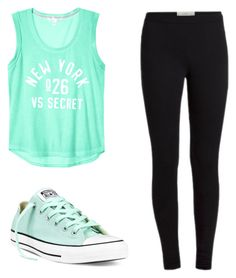 """Untitled #13"" by tatum-25 on Polyvore featuring Converse"