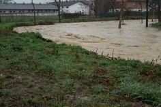 Torrente Tiepido tra Via Gherbella in località S.Donnino. Foto Marco Amarù