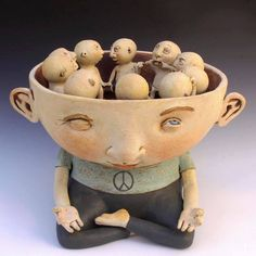 Sculpture by Kina Crow