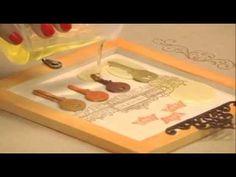 Programa Artesanato sem Segredo - Porta-chaves com vidro líquido